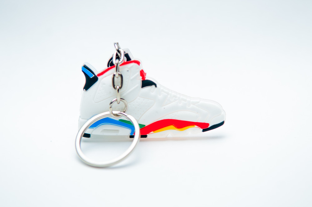 Air Jordan 6 (VI) Retro Olympic White Varsity Red Green Bean New Blue