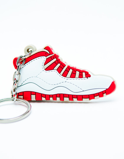 Nike Air Jordan 10 Retro White Red