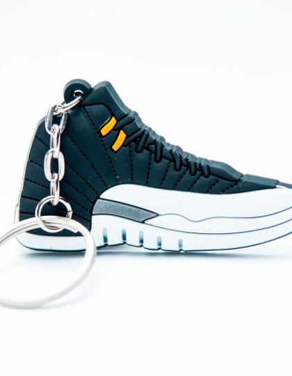 Nike Air Jordan 12 Retro Black White Grey
