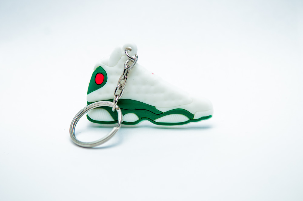 Nike Air Jordan 13 Retro white green