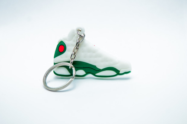 Nike Air Jordan 13 Retro white green