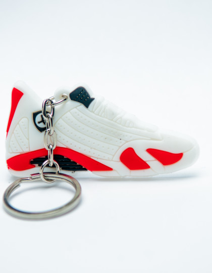 Nike Air Jordan 14 Retro white red