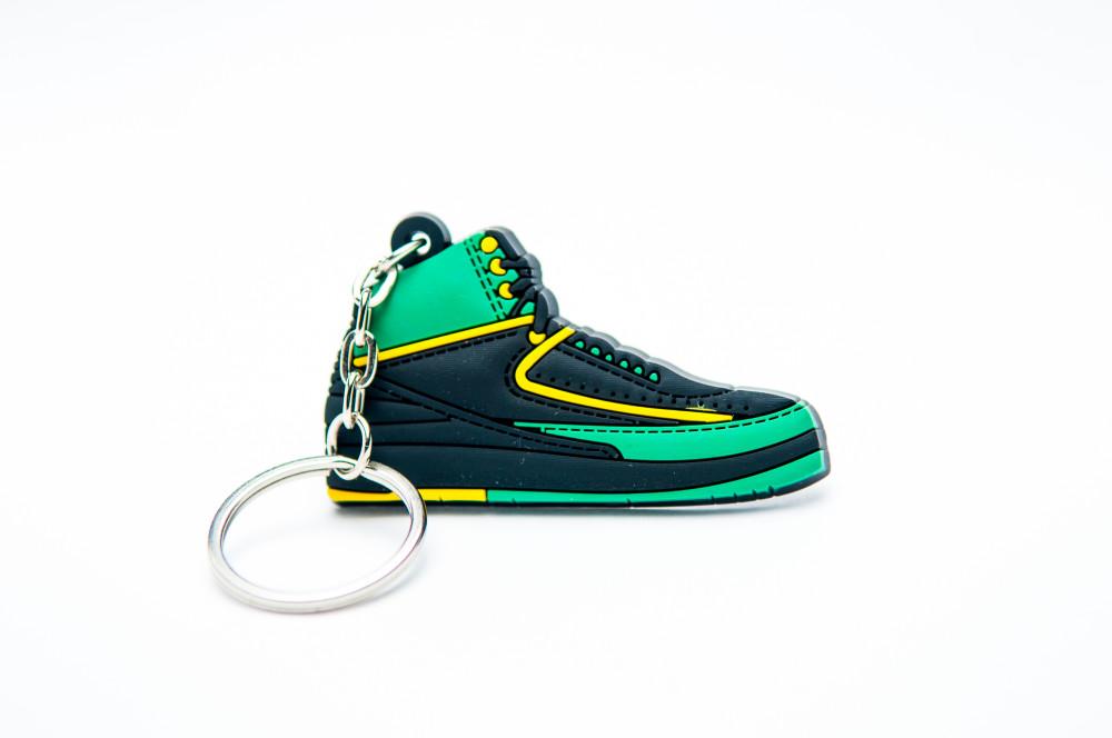 Nike Air Jordan 2 Retro Green Black