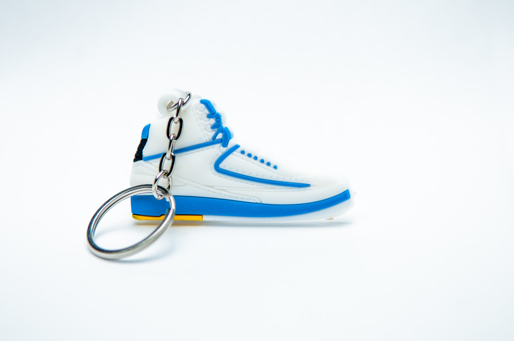 Nike Air Jordan 2 Retro White Blue