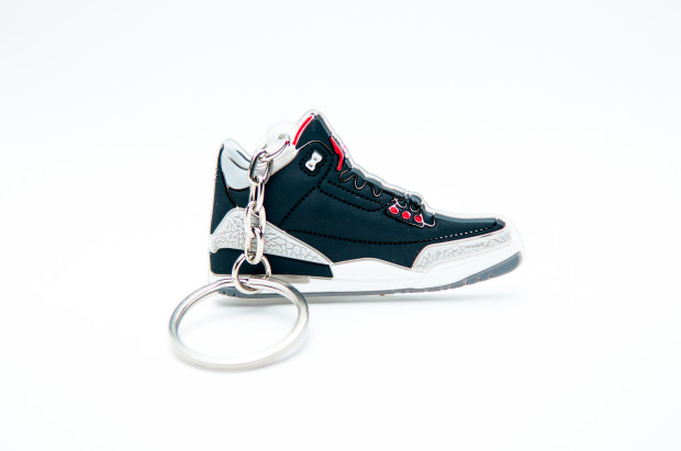 Nike Air Jordan 3 Retro Black Grey Red