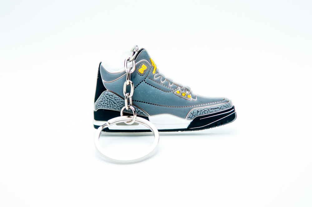Nike Air Jordan 3 Retro Grey Black