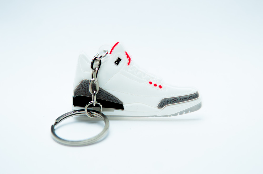 Nike Air Jordan 3 Retro White Grey Black