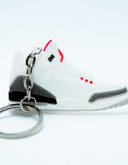 Nike Air Jordan 3 Retro White Grey Black