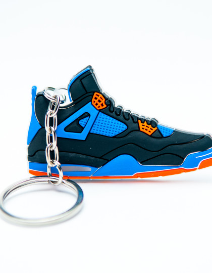 Nike Air Jordan 4 Retro Black Blue