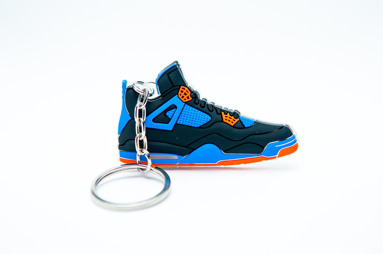067adb93570 Nike Air Jordan 4 Retro Black Blue | Kool keyringsKool keyrings