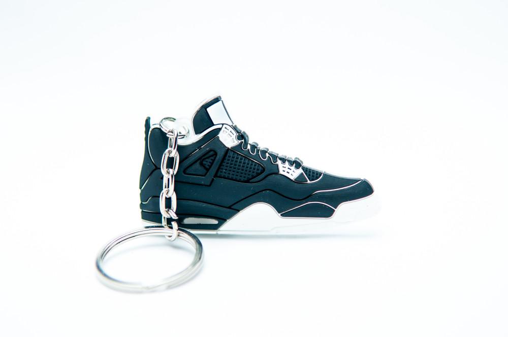 Nike Air Jordan 4 Retro Black White
