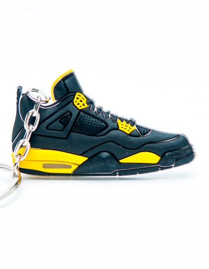 Nike Air Jordan 4 Retro Black Yellow