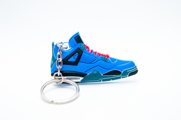 Nike Air Jordan 4 Retro Blue Black