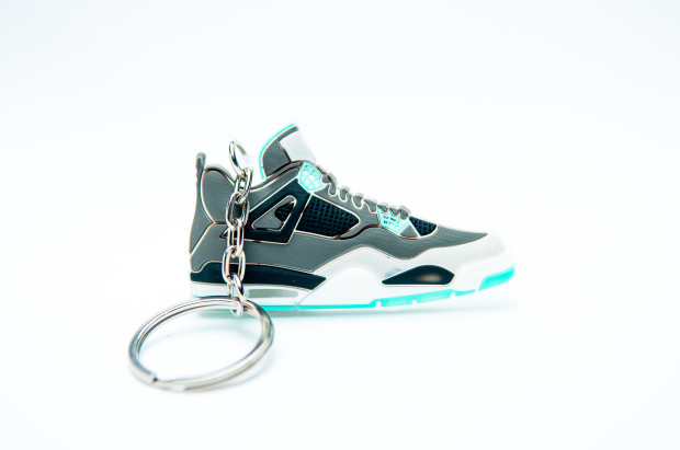 Nike Air Jordan 4 Retro Grey Black Green