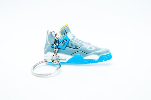 Nike Air Jordan 4 Retro Grey Blue