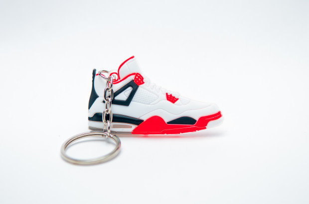 Nike Air Jordan 4 Retro White Black Red