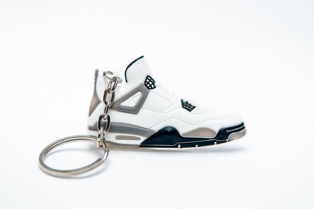 Nike Air Jordan 4 Retro White Grey