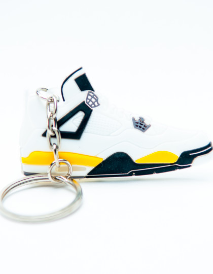 Nike Air Jordan 4 Retro White Yellow