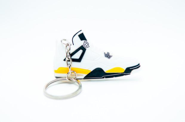 Nike Air Jordan 4 Retro White Yellow