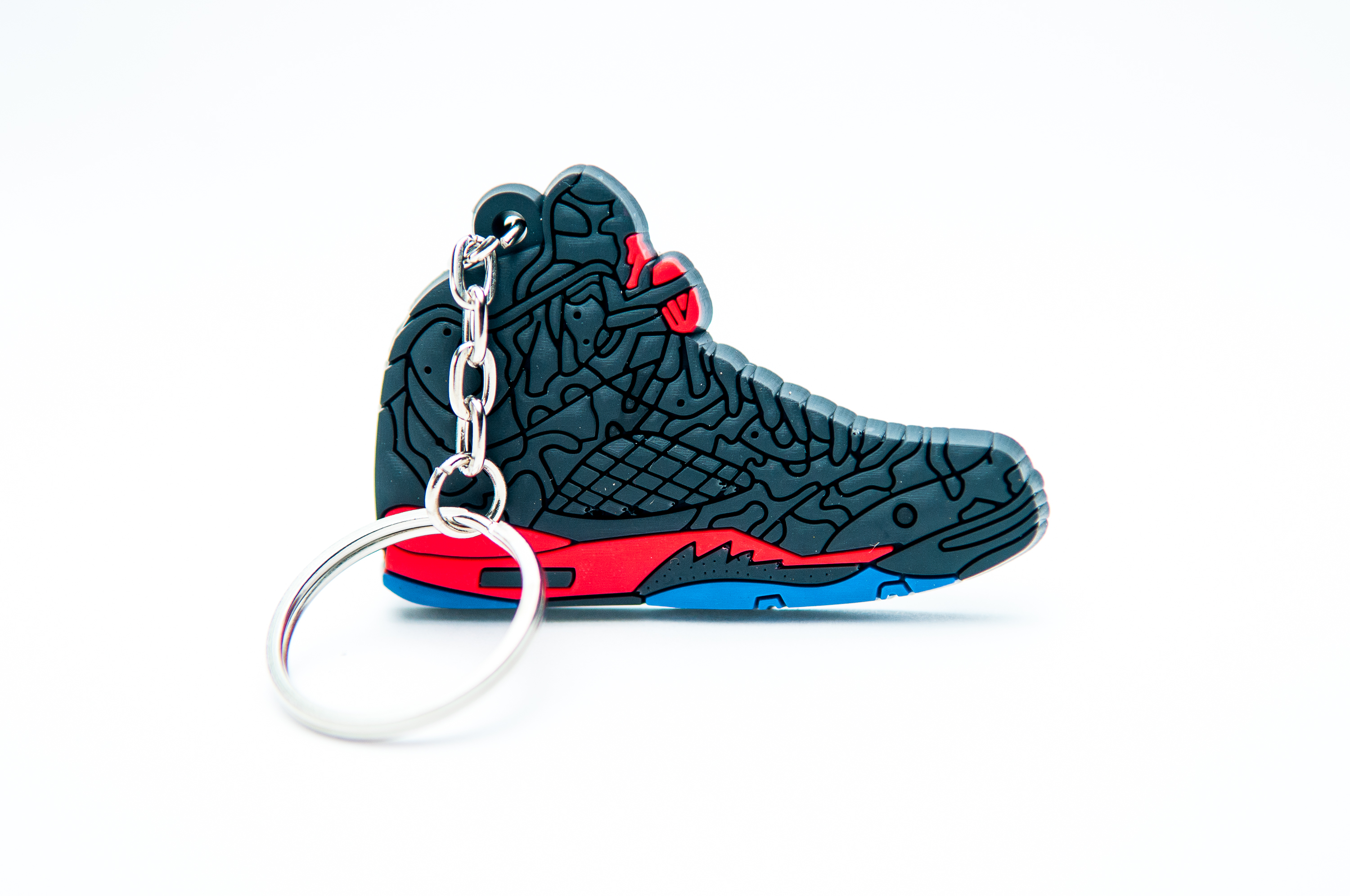 444e8a5340b6 ... netherlands nike air jordan 5 retro 3lab5 black infrared kool  keyringskool keyrings ac423 397a5