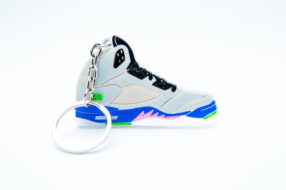 Nike Air Jordan 5 Retro 23 Bel-Air Grey Purple Pink