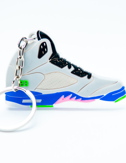 Nike Air Jordan 5 Retro 23 Bel-Air Grey Purple Pink