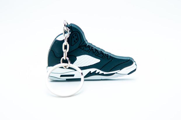 Nike Air Jordan 5 Retro 23 Black Grey White