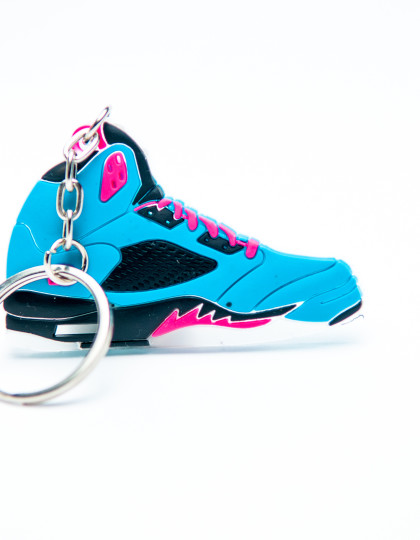 Nike Air Jordan 5 Retro 23 Blue Pink