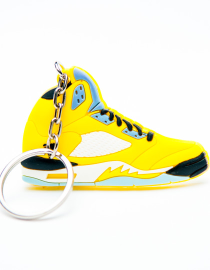 Nike Air Jordan 5 Retro 23 Yellow Blue