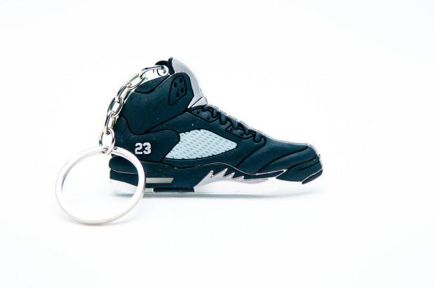 Nike Air Jordan 5 Retro Black Varsity Red Metallic Silver