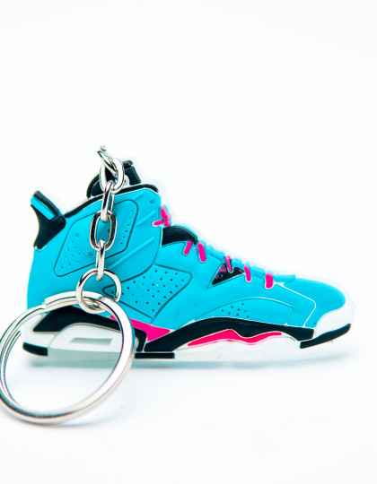 Nike Air Jordan 6 Retro Blue Pink Black