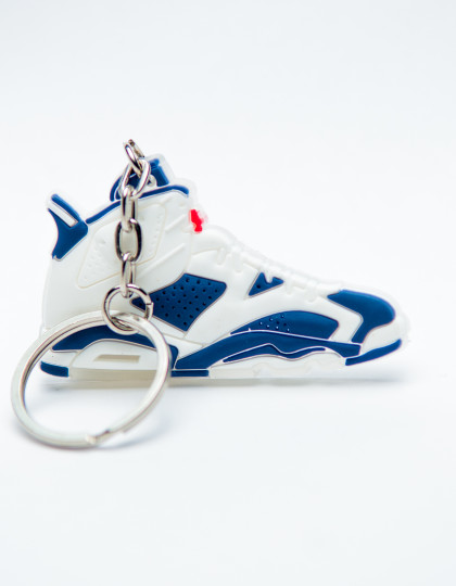 Nike Air Jordan 6 Retro Olympic 2012 Blue White