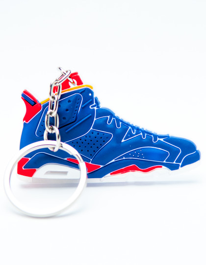 Nike Air Jordan 6 Retro University Red and Blue