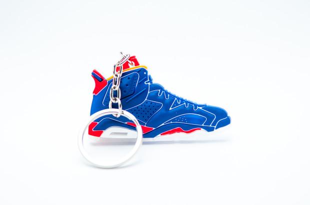 Nike Air Jordan 6 Retro University Red and Blue