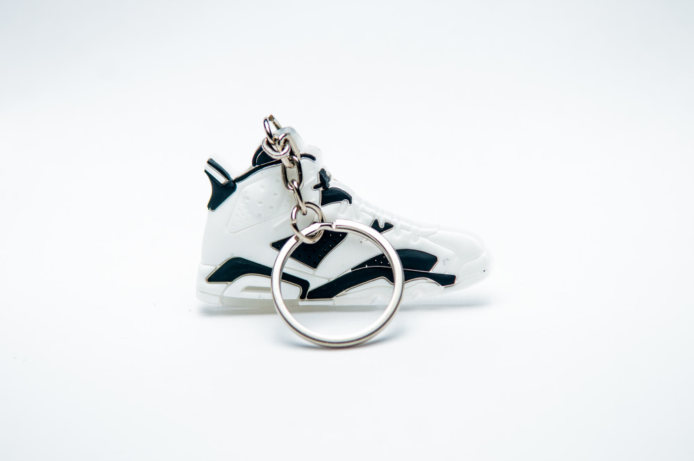 "Nike Air Jordan 6 VI Retro ""Oreo"" White Black"