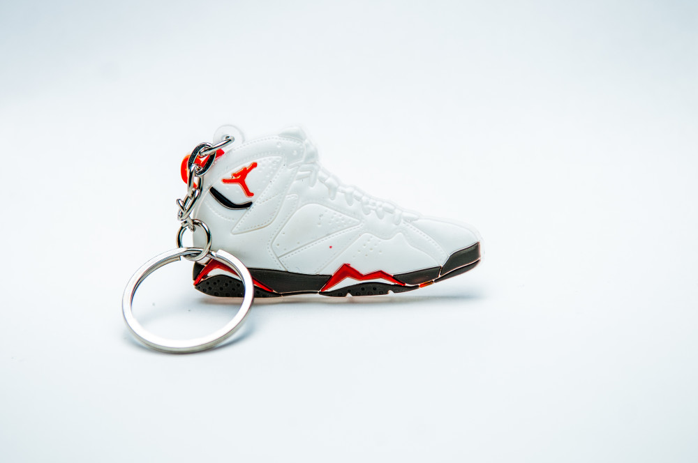 Nike Air Jordan 7 Retro White Red Black