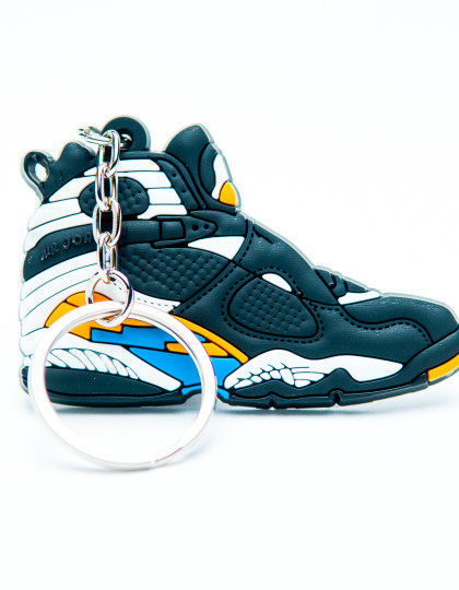 Nike Air Jordan 8 Retro Black Blue White