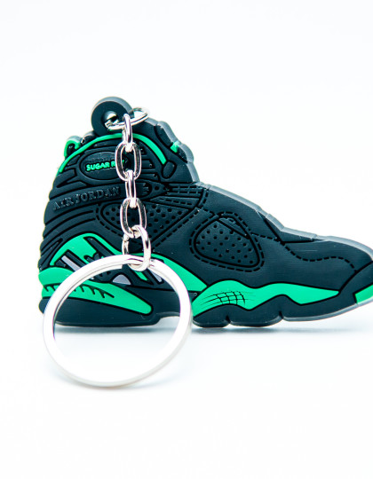 Nike Air Jordan 8 Retro Black Green