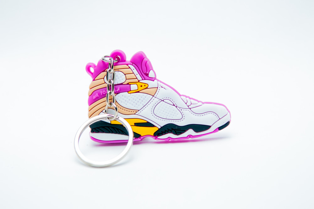 Nike Air Jordan 8 Retro White Pink