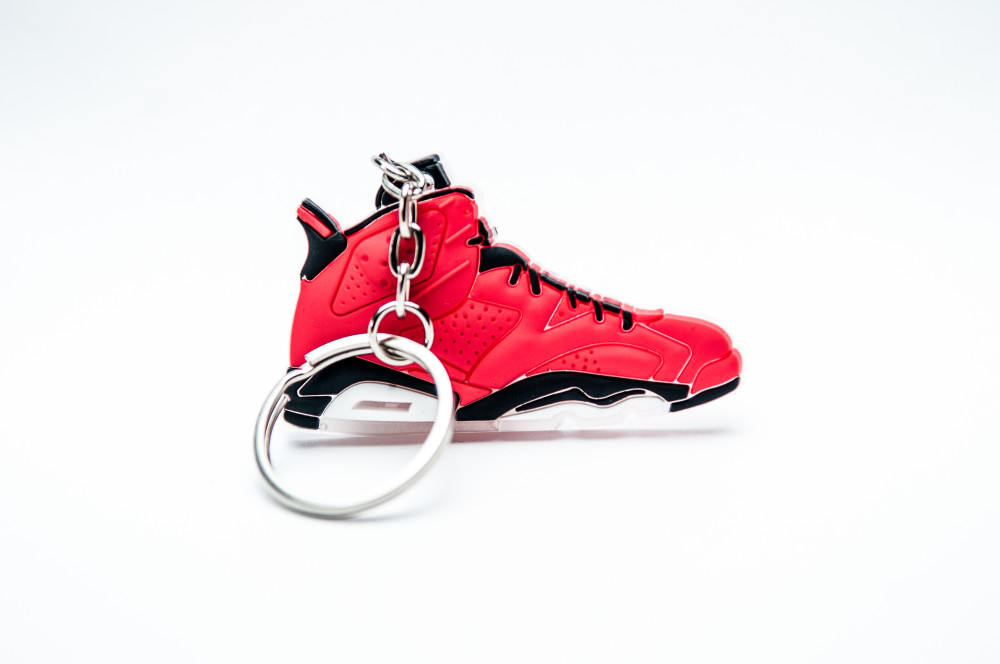 Nike Air Jordan Retro VI 6 Infrared Red