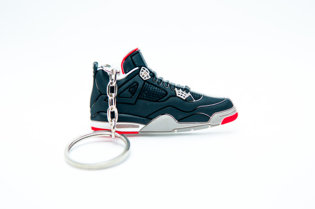 nike air jordan 4 retro black cement grey fire red