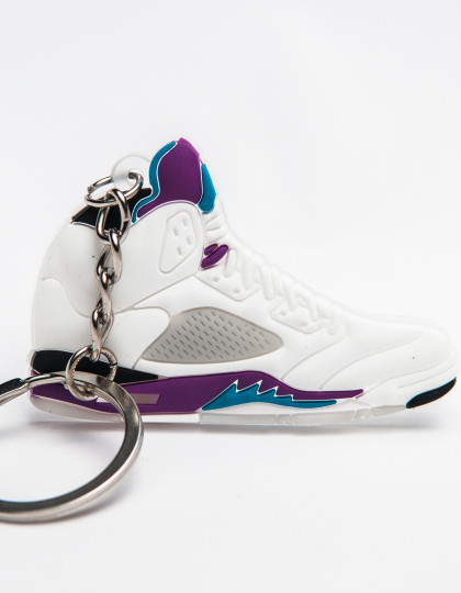 nike air jordan 5 retro grape keyring