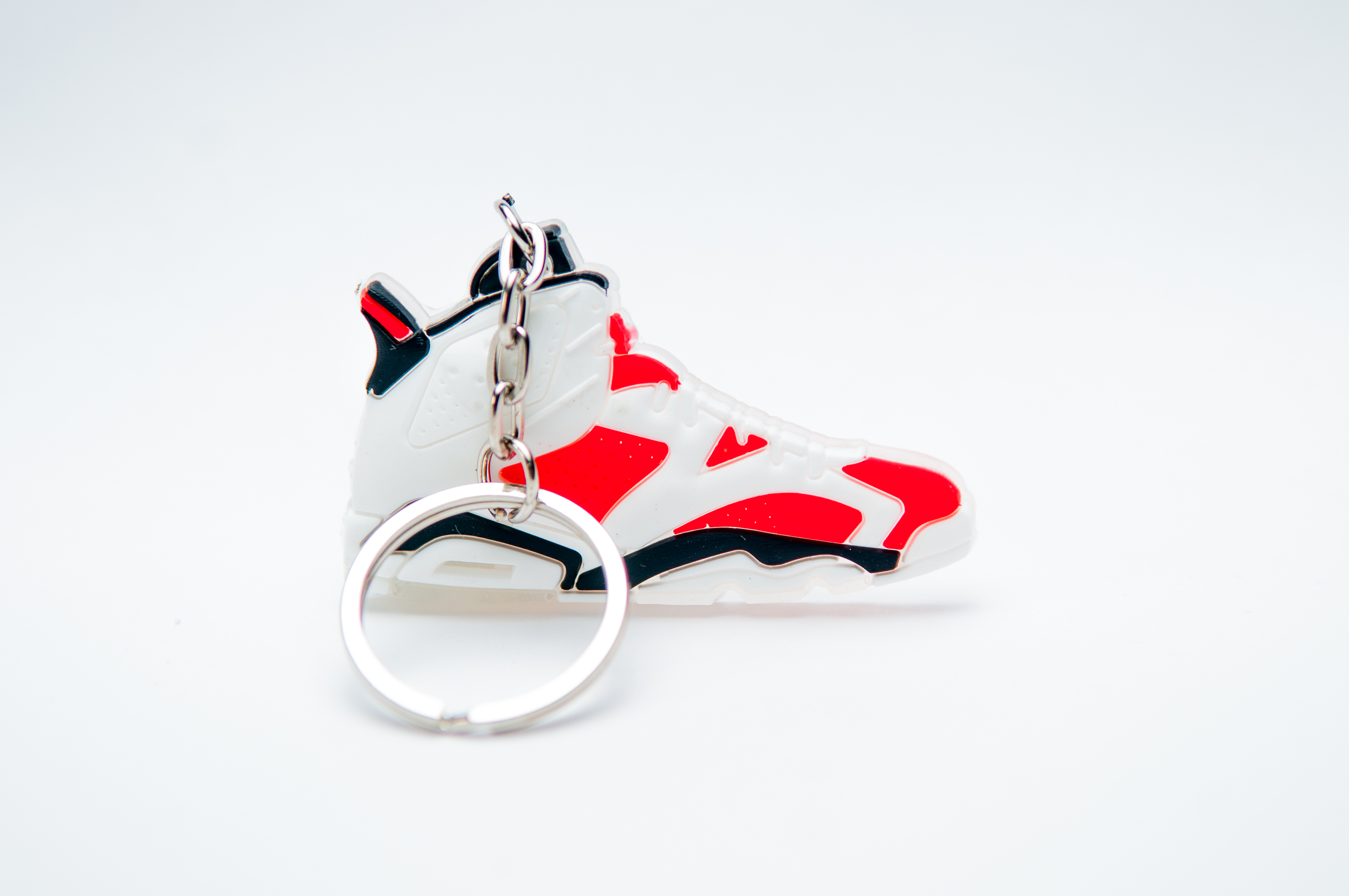 5bf4923b3c8c Nike Air Jordan 6 Retro bulls Original (OG) White Infared - Kool  keyringsKool keyrings