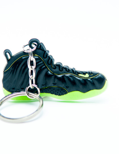 Nike Air Foamposite Black Green