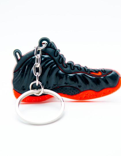 Nike Air Foamposite Black Red