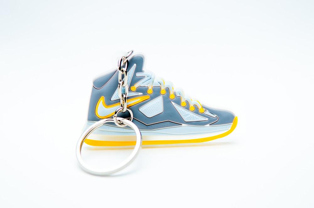 Nike Lebron 10 Grey Yellow