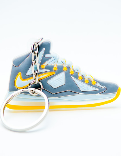 Nike Lebron 10 Grey Yellow