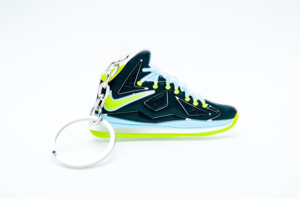 Nike Lebron 10 black green