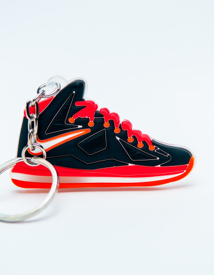 Nike Lebron10 Black Orange