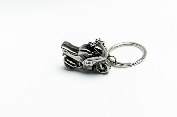 Super bike motorcycle keyring